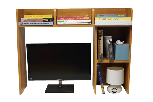 Dorm Organizer Classic Dorm Desk Bookshelf Storage